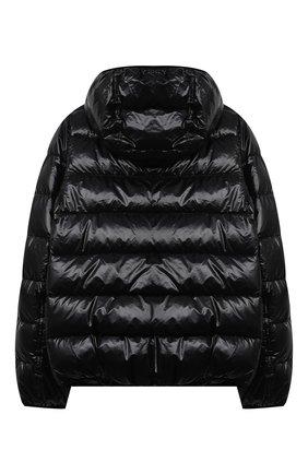 Детского пуховая куртка HERNO черного цвета, арт. PI0078B/12398/10A-14A | Фото 2