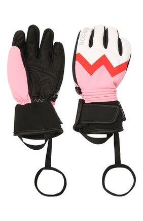 Детские перчатки BOGNER KIDS белого цвета, арт. 6097260 | Фото 2