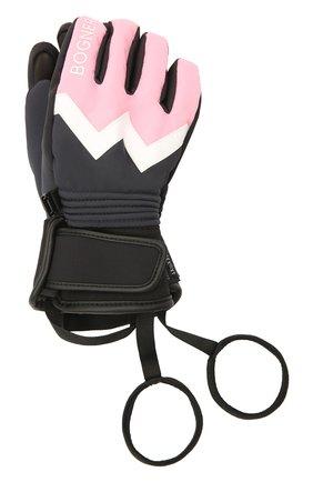 Детские перчатки BOGNER KIDS светло-розового цвета, арт. 6097260 | Фото 1