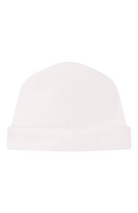 Детского хлопковая шапка KISSY KISSY белого цвета, арт. KB505295N | Фото 2
