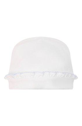 Детского хлопковая шапка KISSY KISSY белого цвета, арт. KG505014N | Фото 2