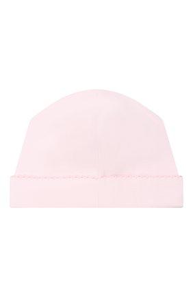 Детского хлопковая шапка KISSY KISSY розового цвета, арт. KG505180N | Фото 2