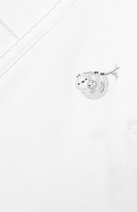 Детский комплект из распашонки и ползунков KISSY KISSY серого цвета, арт. KNZ04735N | Фото 6