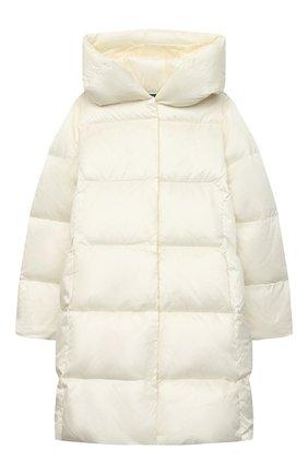 Детское пуховое пальто POLO RALPH LAUREN белого цвета, арт. 313795699 | Фото 1