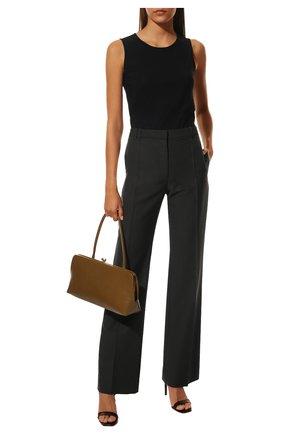 Женская топ JIL SANDER черного цвета, арт. JSWQ705036-WQ477108   Фото 2