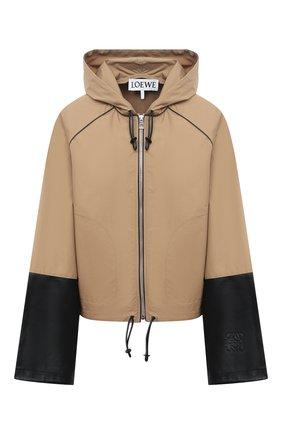 Женская куртка LOEWE бежевого цвета, арт. S359330XB5 | Фото 1