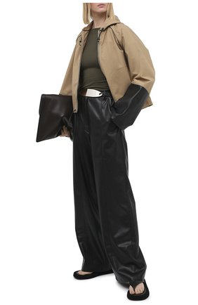 Женская куртка LOEWE бежевого цвета, арт. S359330XB5 | Фото 2