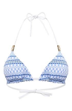 Женский треугольный бра HEIDI KLEIN голубого цвета, арт. 20HSSB0239 | Фото 1