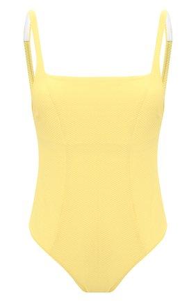 Женский слитный купальник HEIDI KLEIN желтого цвета, арт. 20HSCN0281 | Фото 1