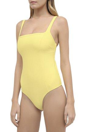 Женский слитный купальник HEIDI KLEIN желтого цвета, арт. 20HSCN0281 | Фото 2