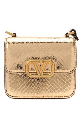 Женская сумка  valentino garavani VALENTINO бронзового цвета, арт. UW2B0G44/QRZ | Фото 1