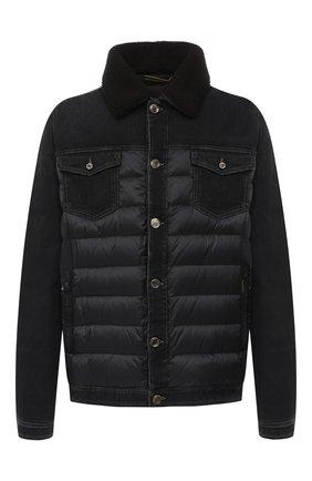 Комбинированная куртка Mondor | Фото №1