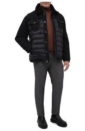 Комбинированная куртка Mondor | Фото №2