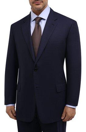 Мужской шерстяной костюм BRIONI темно-синего цвета, арт. RAH00U/09A0H/PARLAMENT0 | Фото 2