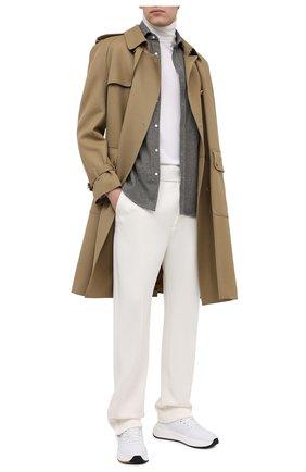 Мужской брюки TOM FORD белого цвета, арт. TFJ997/BV271 | Фото 2
