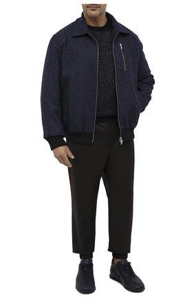 Мужской шерстяной джемпер PAUL&SHARK темно-синего цвета, арт. I20P1030/FLV/3XL-6XL | Фото 2