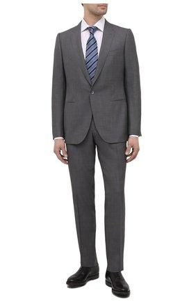 Мужские кожаные оксфорды O`KEEFFE черного цвета, арт. 0K1542/BAR0N   Фото 2