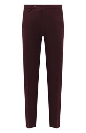 Мужские шерстяные брюки BERWICH бордового цвета, арт. VULCAN0Z/VB8996 | Фото 1