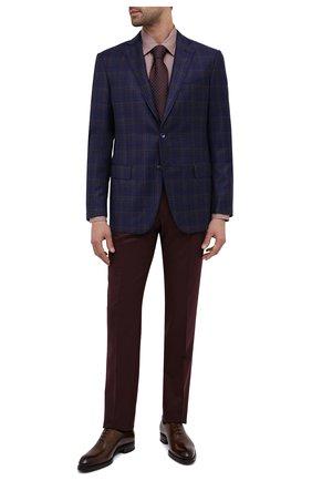 Мужские шерстяные брюки BERWICH бордового цвета, арт. VULCAN0Z/VB8996 | Фото 2
