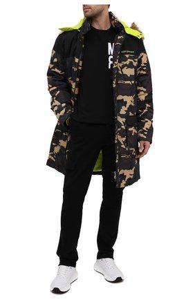 Мужская утепленное пальто COMME DES FUCKDOWN разноцветного цвета, арт. CDFU951   Фото 2