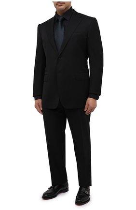 Мужская хлопковая сорочка ETON черного цвета, арт. 1000 01486 | Фото 2