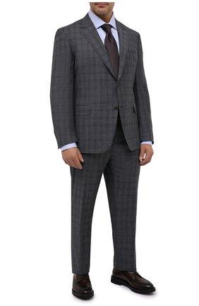 Мужской шерстяной костюм CANALI серого цвета, арт. 11280/19/BF01782/60-64 | Фото 1
