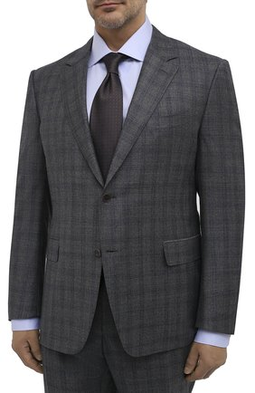 Мужской шерстяной костюм CANALI серого цвета, арт. 11280/19/BF01782/60-64 | Фото 2