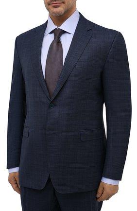 Мужской шерстяной костюм CANALI синего цвета, арт. 19220/93/BR02785/60-64 | Фото 2