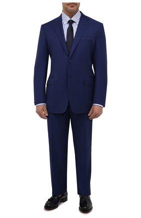 Мужской шерстяной костюм CORNELIANI синего цвета, арт. 867315L0818150/92 Q1 | Фото 1