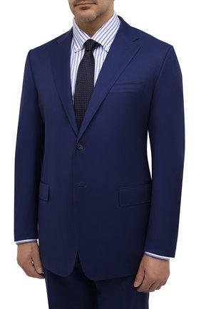 Мужской шерстяной костюм CORNELIANI синего цвета, арт. 867315L0818150/92 Q1 | Фото 2
