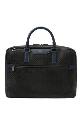 Мужская сумка для ноутбука stepan SERAPIAN черного цвета, арт. SSTEPMLL7125M37B | Фото 1