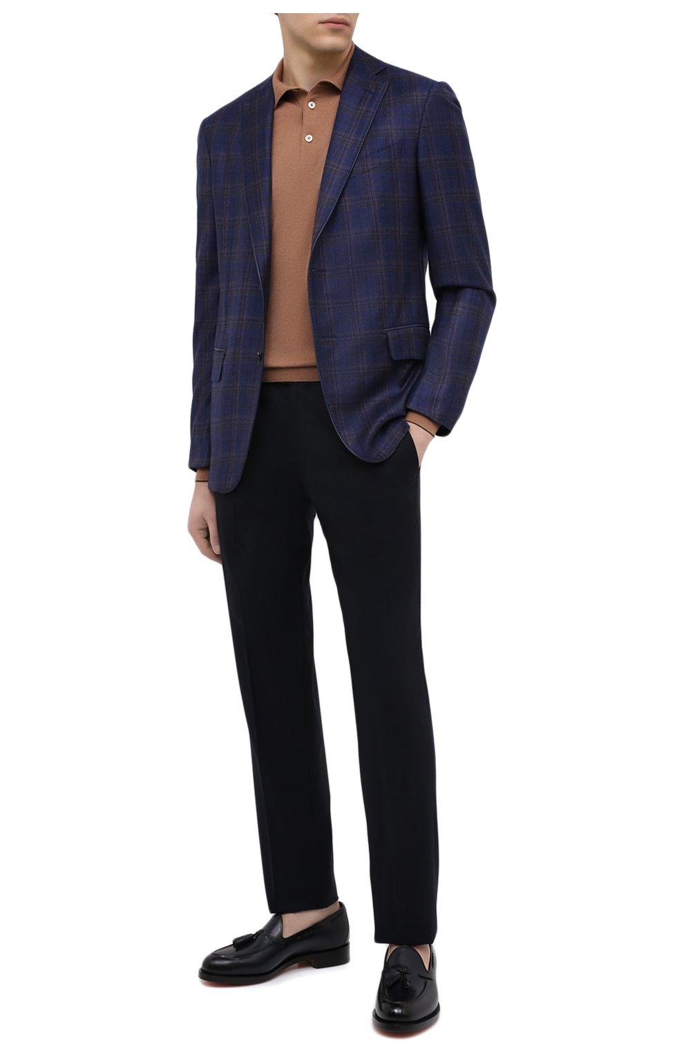 Мужской шерстяной пиджак ZILLI синего цвета, арт. MNU-VG2Y-2-D6607/M001 | Фото 2