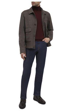 Мужские кожаные ботинки CORNELIANI коричневого цвета, арт. 86TM44-0820955 | Фото 2