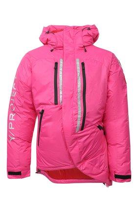 Женская пуховая куртка y/project x canada goose Y/PROJECT розового цвета, арт. YPCGPARKA2 F231 | Фото 1