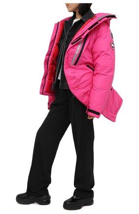 Женская пуховая куртка y/project x canada goose Y/PROJECT розового цвета, арт. YPCGPARKA2 F231 | Фото 2