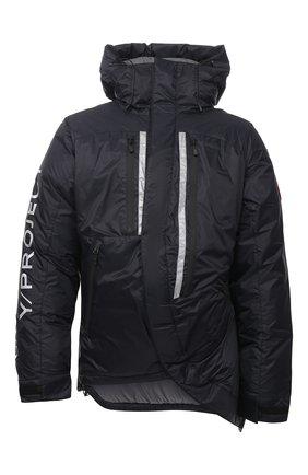 Женская пуховая куртка y/project x canada goose Y/PROJECT черного цвета, арт. YPCGPARKA2 F231 | Фото 1