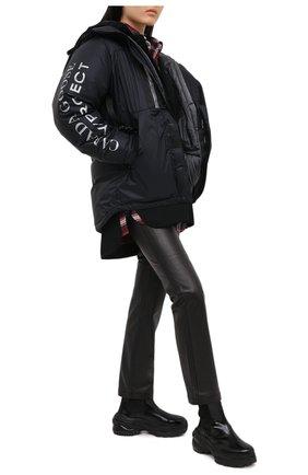Женская пуховая куртка y/project x canada goose Y/PROJECT черного цвета, арт. YPCGPARKA2 F231 | Фото 2