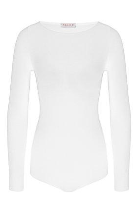 Женское боди FALKE белого цвета, арт. 40925 | Фото 1