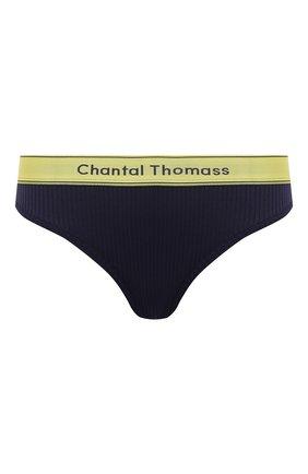 Женские трусы-слипы CHANTAL THOMASS темно-синего цвета, арт. T05C90 | Фото 1
