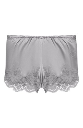 Женские шорты из шелка и хлопка DOLCE & GABBANA серого цвета, арт. 03B35T/FUAD8 | Фото 1