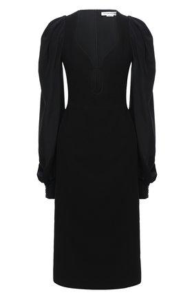 Женское платье VICTORIA BECKHAM черного цвета, арт. 1420WDR002122A | Фото 1