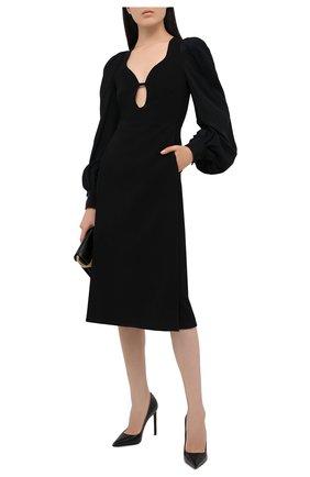 Женское платье VICTORIA BECKHAM черного цвета, арт. 1420WDR002122A | Фото 2