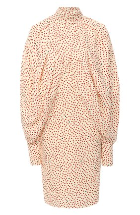 Женское платье из вискозы VICTORIA BECKHAM кремвого цвета, арт. 1420WDR002061B | Фото 1