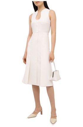 Женское платье VICTORIA BECKHAM кремвого цвета, арт. 1420WDR001959B | Фото 2