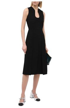 Женское платье VICTORIA BECKHAM черного цвета, арт. 1420WDR001959B | Фото 2