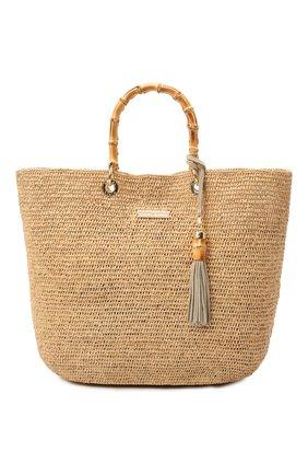 Женская сумка savannah bay HEIDI KLEIN бежевого цвета, арт. 16ACSBHK11124 | Фото 1