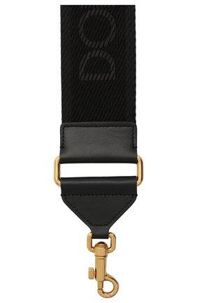 Женские ремень для сумки DOLCE & GABBANA черного цвета, арт. BI2855/A0009 | Фото 2