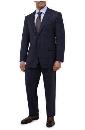 Мужской шерстяной костюм CORNELIANI темно-синего цвета, арт. 867315L0817248/92 Q1 | Фото 1