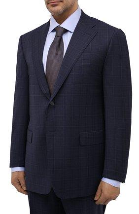 Мужской шерстяной костюм CORNELIANI темно-синего цвета, арт. 867315L0817248/92 Q1 | Фото 2