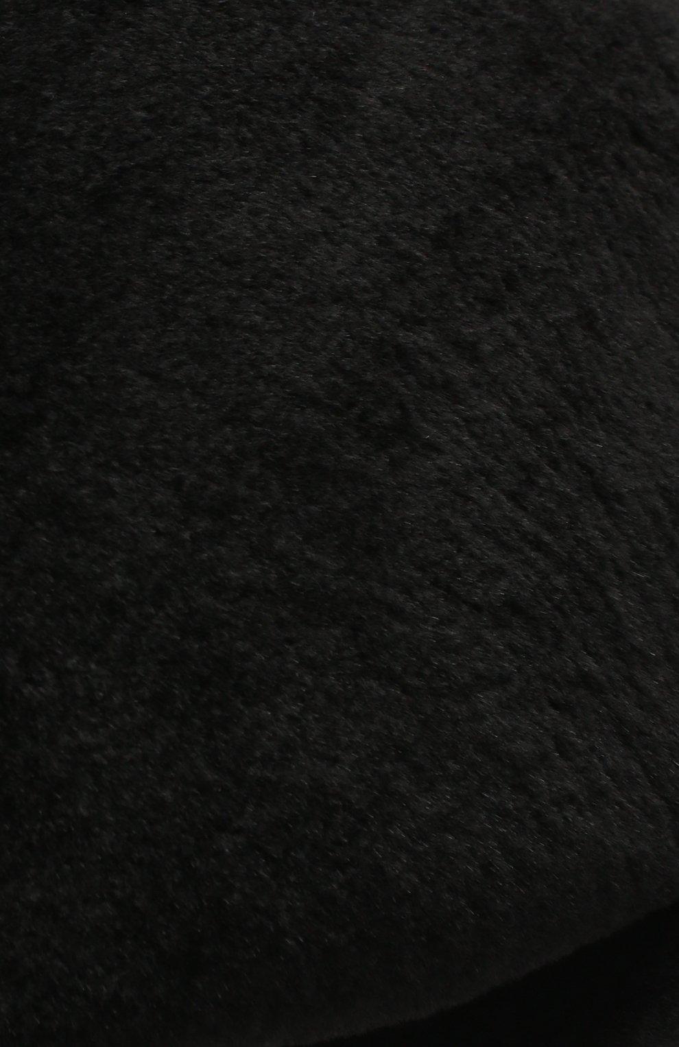 Мужская кепи из меха норки дэниэл-2 FURLAND черного цвета, арт. 0232100150156600914 | Фото 3